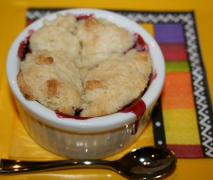Berry cobbler The Round House