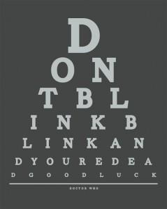 dont blink print